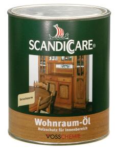 Interiérový olej - Wohnraum-Öl